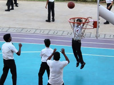 Basketball at Silver Oaks