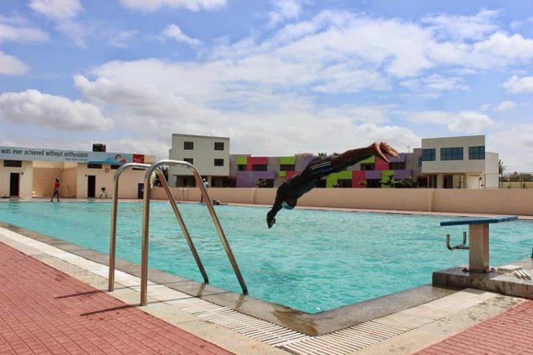 Swimming at Silver Oaks