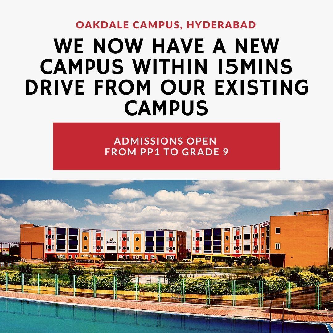 Oakdale campus popup