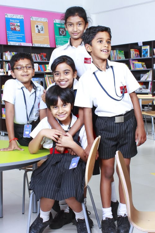 Silver Oaks International School Bangalore Top IB CBSE School Library