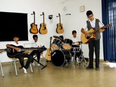 Silver Oaks International School Music Studio