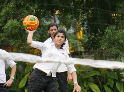 Silver Oaks International School Vizag Sports Throwball