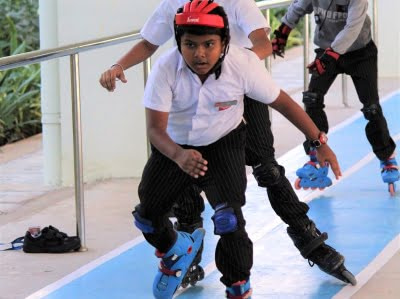Silver Oaks International School Vizag Sports Skating