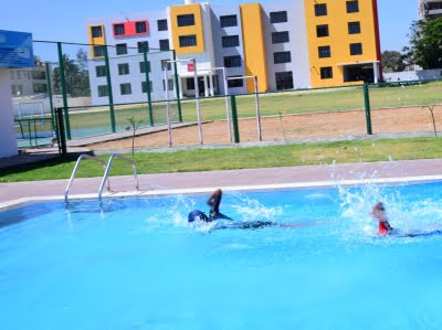 Swimming Pool facility at Silver Oaks International School Whitefield